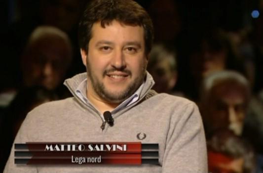 """Servizio Pubblico, Salvini: """"Repubblica sta travalicando l'incredibile"""""""