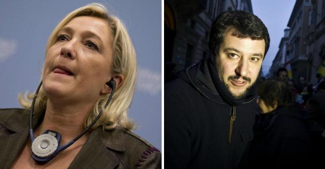 Elezioni Europee, incontro tra Salvini e Le Pen per concordare una strategia comune