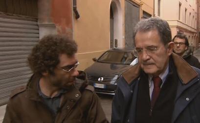 """Servizio Pubblico, Prodi: """"Con la compravendita non sono stato offeso io, ma il Paese"""""""
