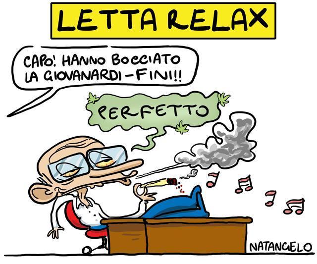 La vignetta del giorno: Letta si rilassa