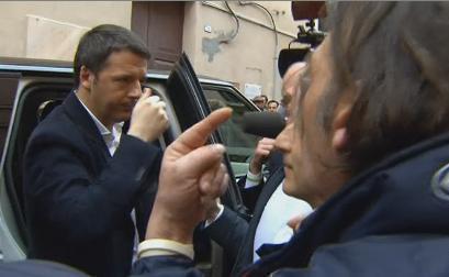 Servizio Pubblico, il duello Renzi-Letta e gli umori nel Pd e in FI