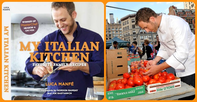 My Italian Kitchen, il libro di Luca Manfè: \