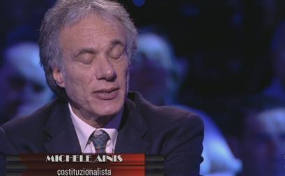 """Servizio Pubblico, Ainis: """"I colloqui Napolitano-Monti non furono scorretti"""""""