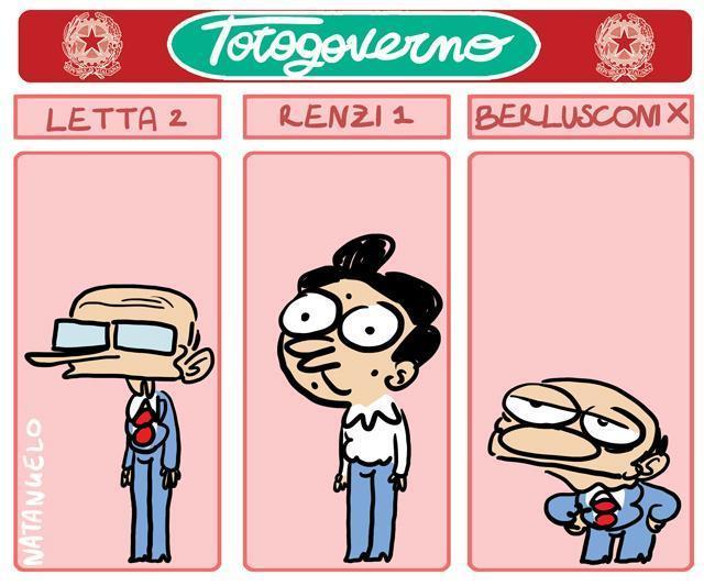 La vignetta del giorno: Totogoverno
