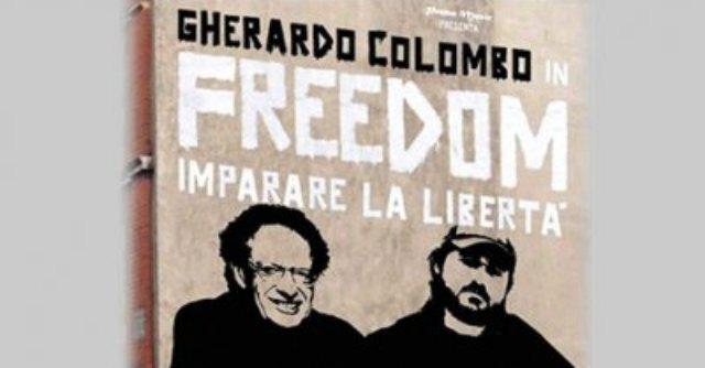 """Gherardo Colombo e il rapper Piotta al Duse con """"Freedom! Imparare la libertà"""""""