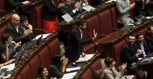 Finanziamento ai partiti ora il dl legge protesta for Video camera dei deputati oggi
