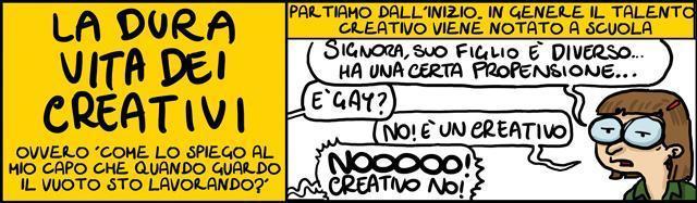 Lavori creativi, #CoglioneNi
