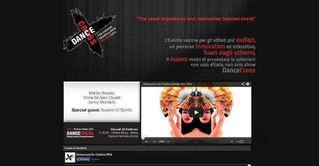 Milano Fashion Week 2014, in scena la moda dinamica di 'Dancecross'