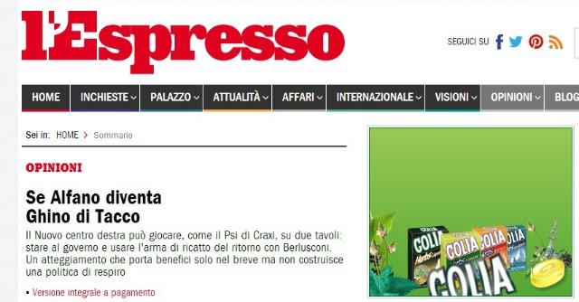 Repubblica, nel 2013 rosso da 4,5 milioni. Crollano utili per L'Espresso: no dividendi