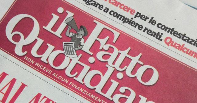 In Edicola sul Fatto Quotidiano del 22 Settembre: S'indaga sugli affari di Toto con l'uomo della Leopolda