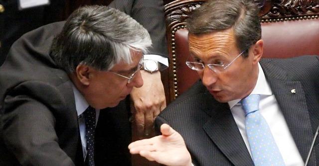 Carlo Giovanardi e Gianfranco Fini