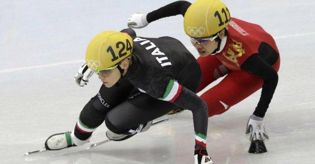 Olimpiadi Sochi 2014, Fontana conquista l'argento nei 500 metri di short track