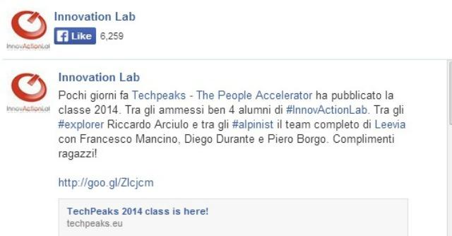 Start up, a Innovaction Lab corsi gratuiti per universitari in cerca di finanziatori
