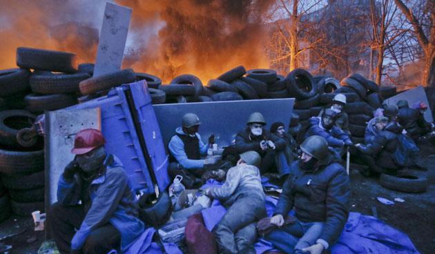 Scontri Kiev