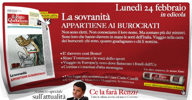 Fatto del Lunedì – Ce la farà Renzi? Tutte le novità sulla formazione del governo