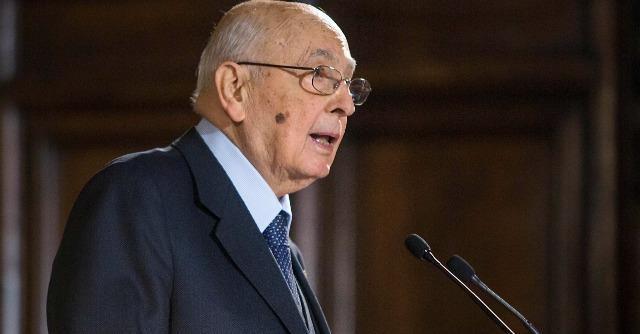 """Strasburgo, Giorgio Napolitano: """"Monti e Letta non sono stati miei capricci"""""""