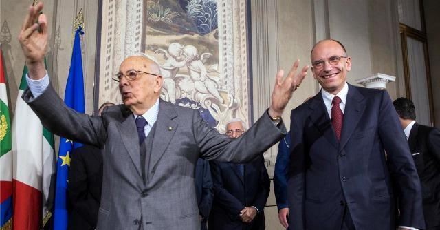 """Governo, Letta: """"Con Napolitano per sbloccare la situazione"""". Renzi: """"Era ora"""""""