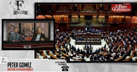FattoTv, 'Il turno di Renzi'. Riguarda la diretta con Padellaro, Gomez e Feltri