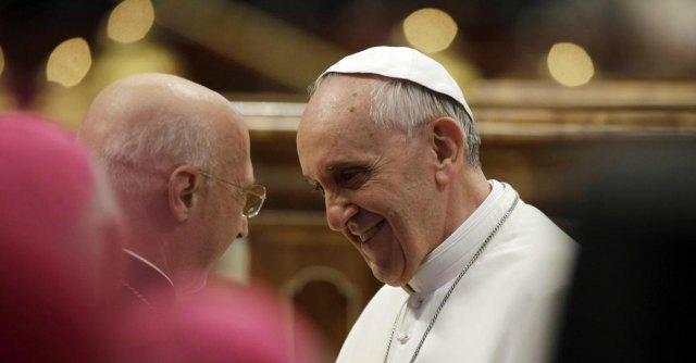 Angelo Bagnasco e Papa Francesco