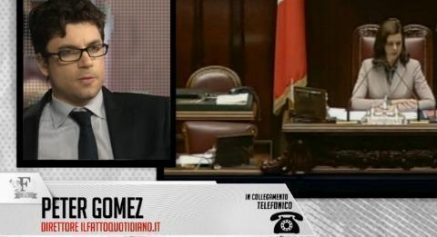 """Governo, Peter Gomez: """"Matteo Renzi è appeso al cuneo fiscale"""""""