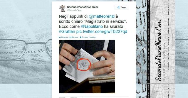 Governo Renzi, Gratteri chiamato alla Giustizia. Poi Napolitano blocca la nomina