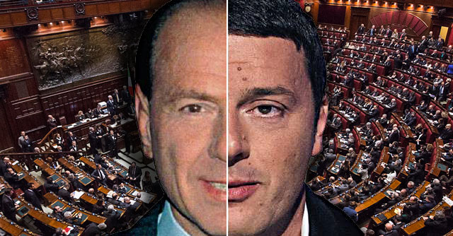 Sembra il primo Berlusconi ma è Renzi: i discorsi per la fiducia a confronto