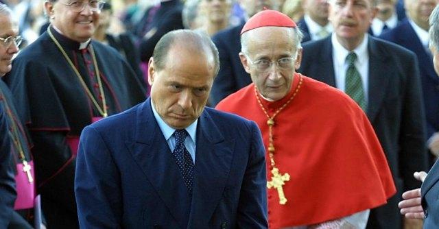 Ruini e Berlusconi