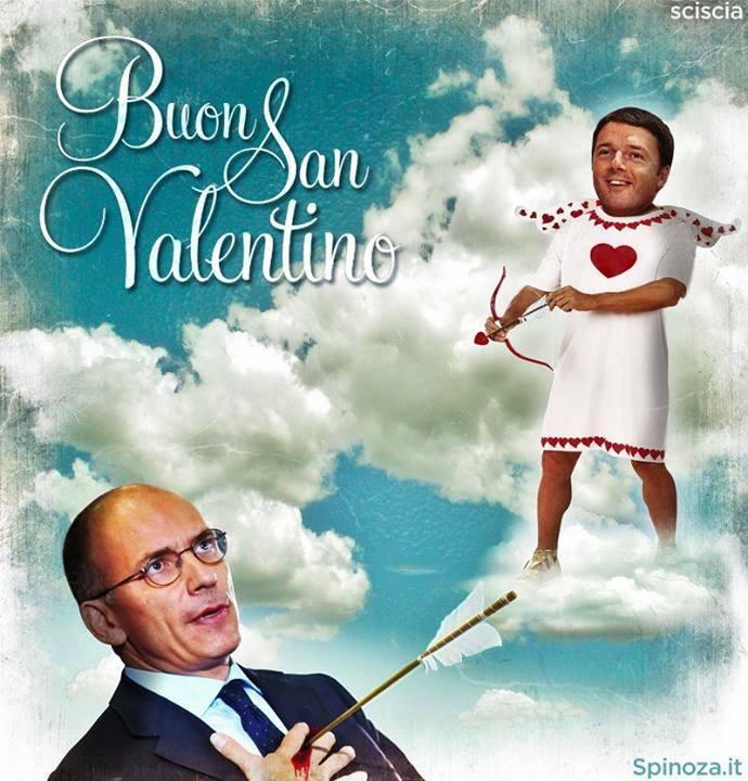 Renzi 'dimette' Letta su Twitter #proviamoci