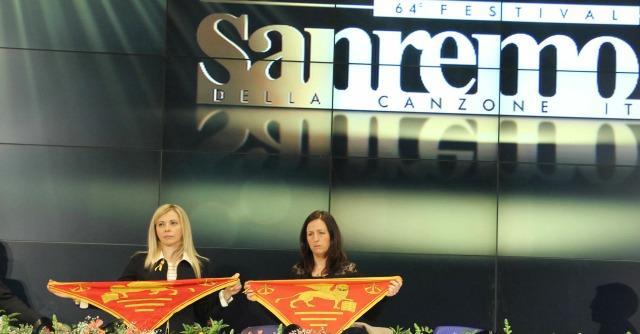 Sanremo 2014 - mogli marò
