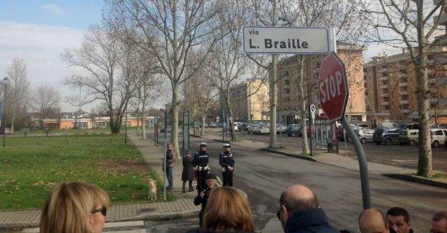 Piacenza, il Comune intitola una via a Braille: ma sceglie un vicolo cieco