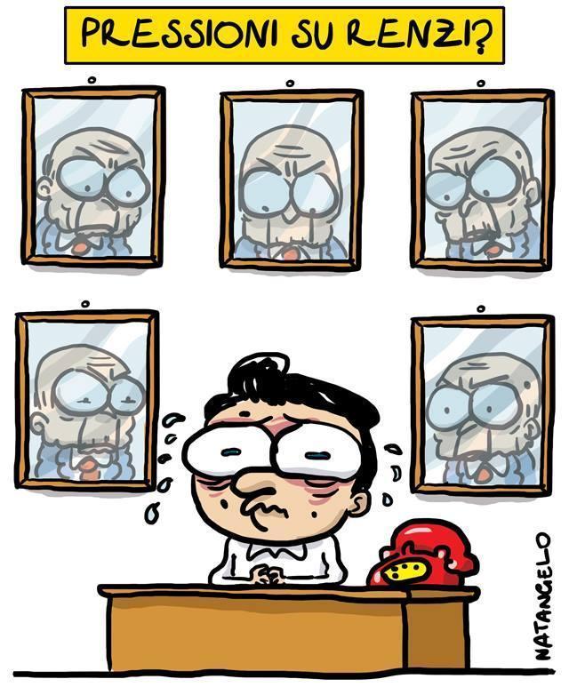 La vignetta del giorno: Pressioni