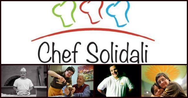 """""""Chef solidali"""", a Roma una cena al mese per l'inclusione sociale dei ragazzi disabili"""