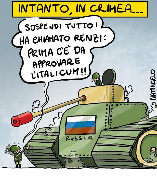 La nuova vignetta: Italicum