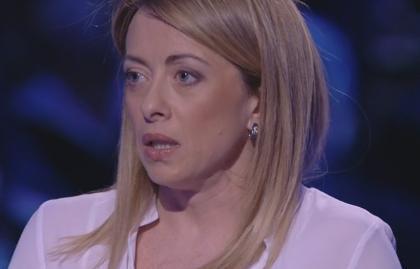 """Servizio Pubblico, Meloni (Fdi): """"O Renzi è un fenomeno o sta bluffando"""""""