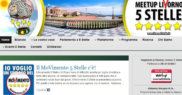 5 stelle Livorno