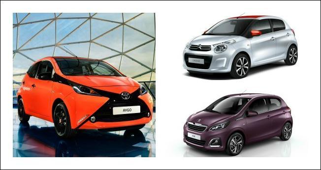 Aygo, C1, 108: le 'piccole' di casa Toyota, Citroën, Peugeot a confronto