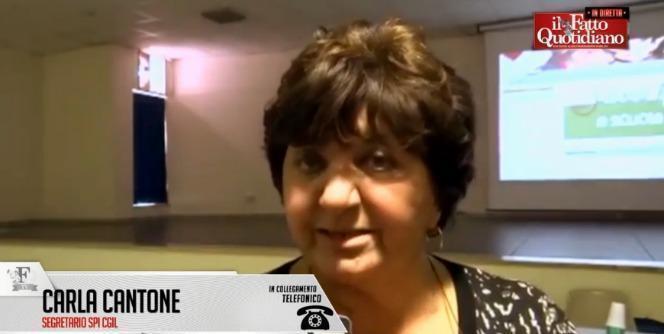 """#Renzact, Cantone (Spi Cgil): """"I pensionati non sono un Bancomat. Basta sacrifici"""""""