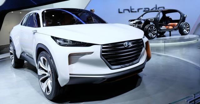 Hyundai Intrado concept, la faccia europea della Casa coreana