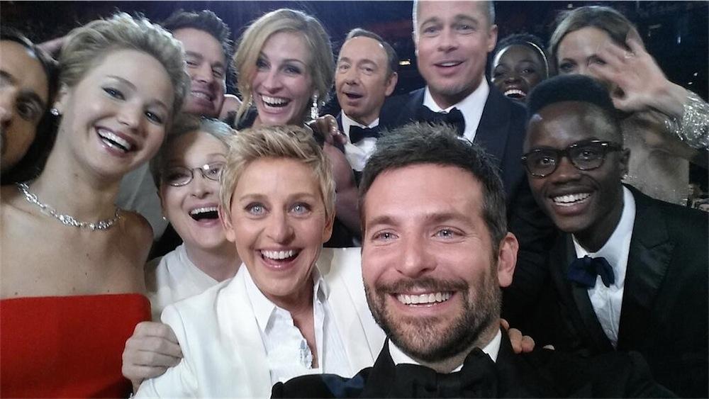 Il selfie di Ellen agli Oscar 2014