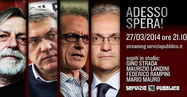 Servizio Pubblico - ADESSO SPERA