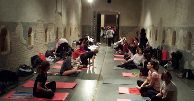 Siena, zumba e karate in uno dei massimi monumenti del Medioevo italiano