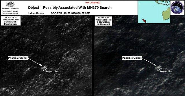 """Malaysia Airlines, Australia: """"Trovati possibili resti dell'aereo scomparso"""""""