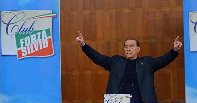 """Forza Italia, Berlusconi: """"I miei figli candidati alle europee? Tutte invenzioni"""""""