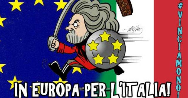 Europee M5s, online regole per candidarsi. Multa da 250mila euro per chi viola codice