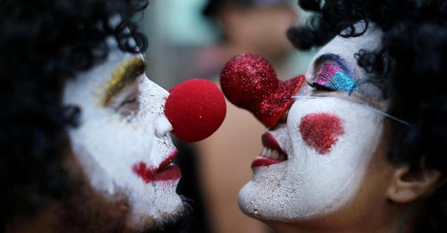 I bambini e il timore dei clown