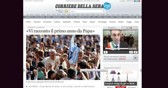 Il corriere della sera crescer nel digitale dopo i tagli for Corriere della casa