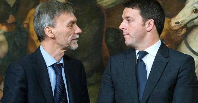 Graziano Delrio e Matteo Renzi