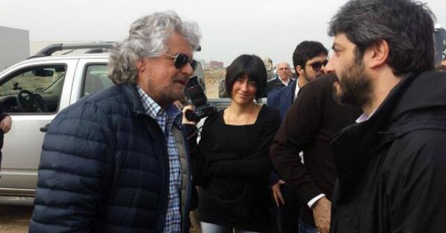 """Expo 2015 Milano, """"ispezione"""" di Grillo e M5s. """"Protesta come Tav? Perché no"""""""