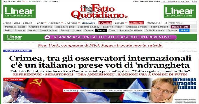 Fatto Quotidiano - Homepage