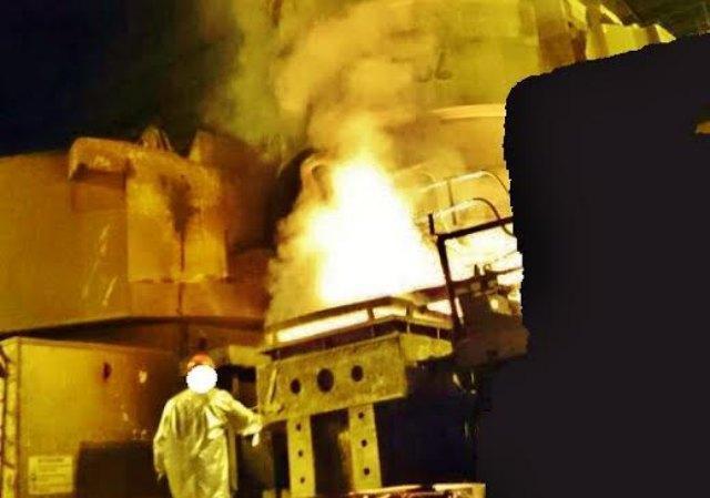 Ilva, la foto-denuncia: ora i fumi restano dentro il capannone con gli operai